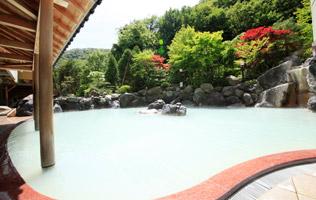 露天風呂(単純硫黄泉)